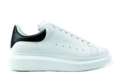 mcqueen oversized white black