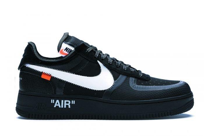 Nike air force 1 x off white black